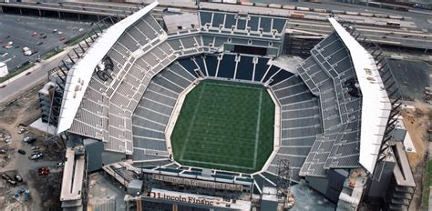 seating capacity of lincoln financial field alaceg lincoln financial field nfl philadelphia eagles