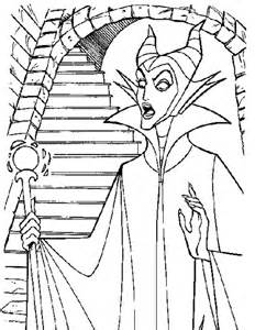 maleficent coloring pages disney princesses maleficent free printable