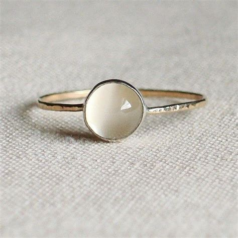 Asos Simple Gold Moon Ring style style