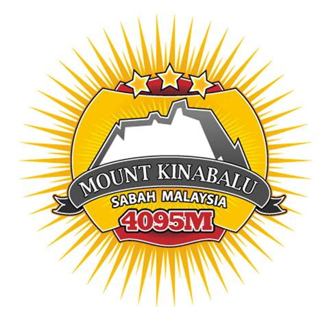 Senter Kepala Fox logo gunung kinabalu check out logo gunung kinabalu cntravel