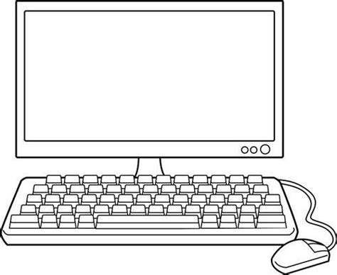 dibujos de navidad para colorear en la computadora dibujos de computadoras para colorear e imprimir