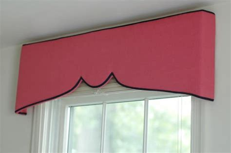 making a curtain pelmet easy to make window valance design dazzle