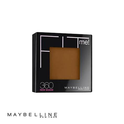Maybelline Pressed Powder maybelline fit me pressed powder 360 mocha 9g