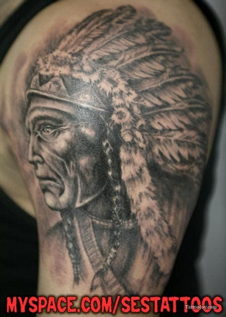 indian chief tattoos 36 best memory tattoos images on in