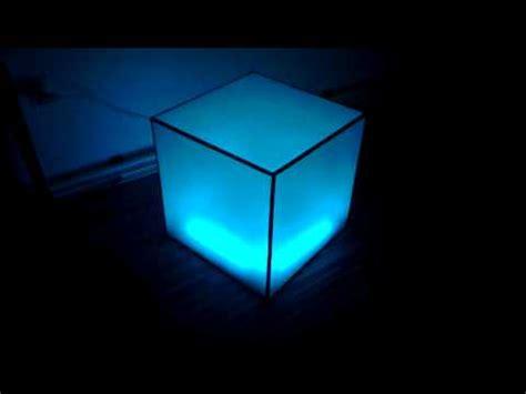 plexiglas tv aufsatz ikea ikea dioder acrylic rgb led cube