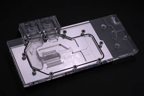 Bykski Fcwb N Gx1080 X Vga Water Block byksi announces waterblock for geforce gtx 1080
