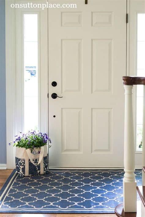 entry door rugs how to refresh a small entry small entry small spaces and spaces