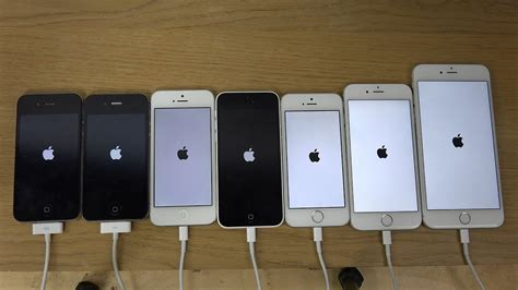 iphone 6 plus vs 6 vs 5s vs 5c vs 5 vs 4s vs 4 which is faster 4k