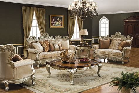 vintage living room furniture fancy chandelier in