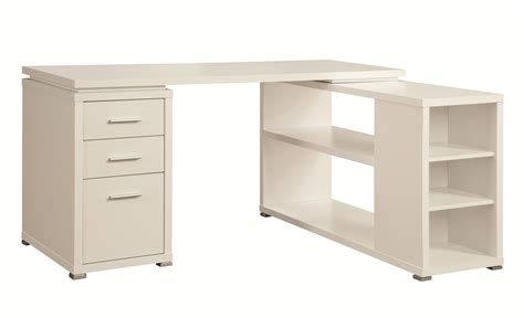 Coaster 800516 White Wood Office Desk Steal A Sofa White Wood Desks