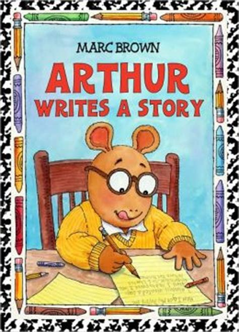arthur writes a story arthur adventures series by marc