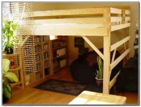 Loft beds for adults with desk beds home furniture design