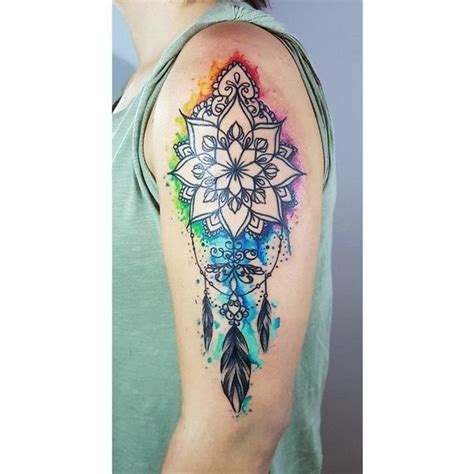 dreamcatcher sleeve tattoo 50 dreamcatcher best designs with meaning