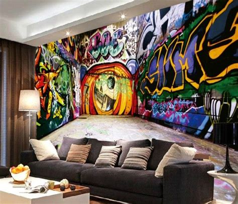 graffiti wallpaper living room 2466 best wall deco images on pinterest wall murals