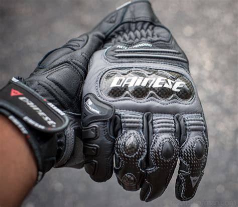 Dainese Carbon Cover S ST Gloves   Knuckle Armor   Manual