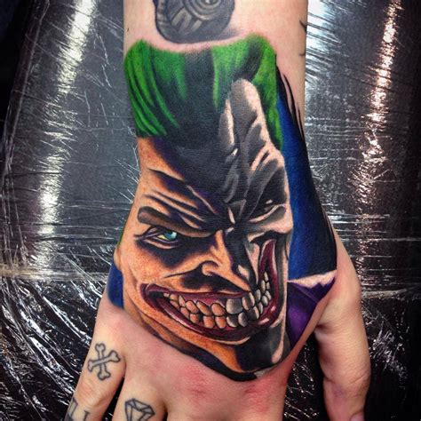 joker hand tattoo joker tattoos designs ideas and meaning tattoos for you