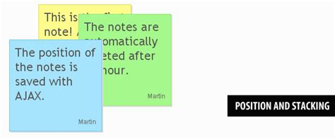 javascript tutorial notes ajax enabled sticky notes with php jquery tutorialzine