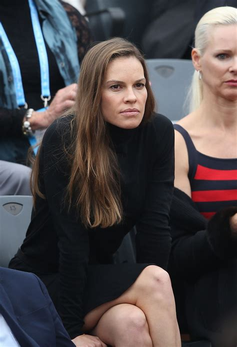 hilary swank paris home hilary swank 2016 french open final of roland garros in
