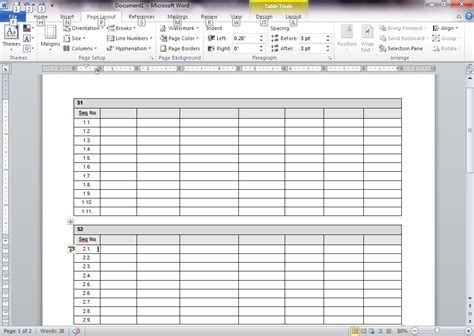 Word Table by Find A Table In Word And Write In That Table Using Java