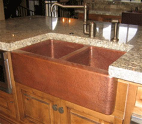 mountain rustic farm front copper kitchen sink mountain copper rustic handmade copper farm sinks