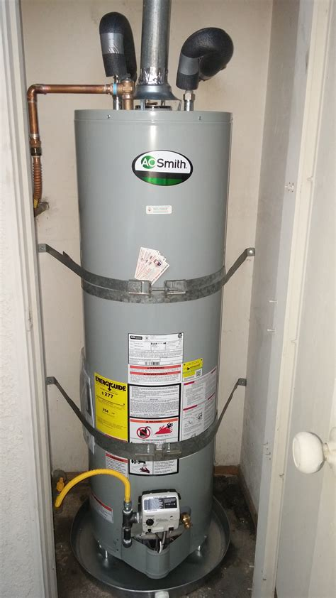 Water Heater Replacement Tasty Ao Smith Gas Water Heater System Lockout For Air Vent