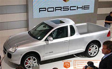 porsche truck 2006 rumored 2006 cayenne pelican parts