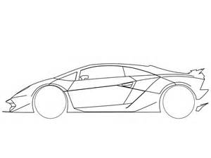 How To Draw Lamborghini Sesto Elemento How To Draw A Car Side Pictures 4 Brown Hairs