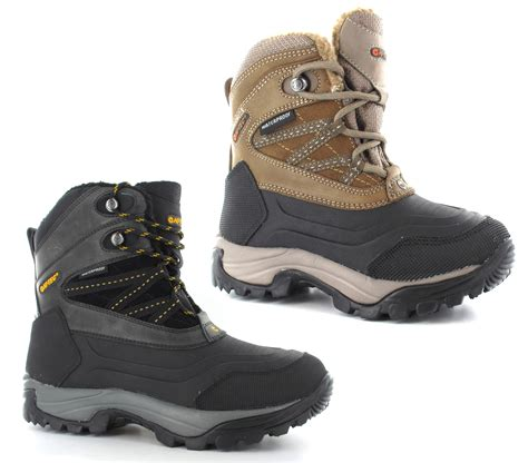 mens snow boots size 7 new mens hi tec snow peak waterproof thermal warm winter