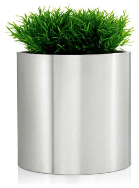 greens round planters extra large modern outdoor pots