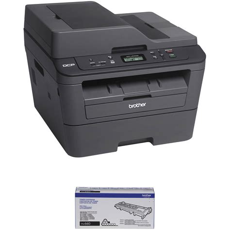 Printer Dcp L2540dw dcp l2540dw all in one monochrome laser printer b h