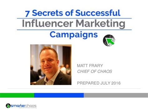 7 Secrets Of Successful 7 secrets of successful influencer marketing caigns