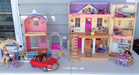 fisher price doll house fisher price loving family doll house horse stable car dolls furniture robin s general store