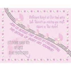 baby shower invitations baby shower invitation wording distance