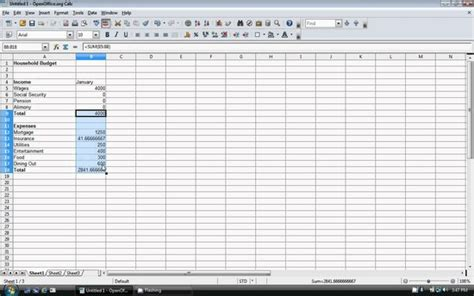 How To Make Budget Spreadsheet by How To Create A Personal Budget Spreadsheet Buff