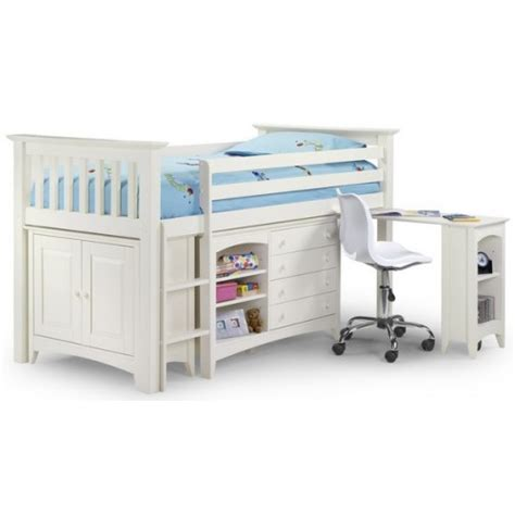 Cameo Bunk Bed with Cameo White Wooden Bunk Bed Children S Mid Bunk Beds