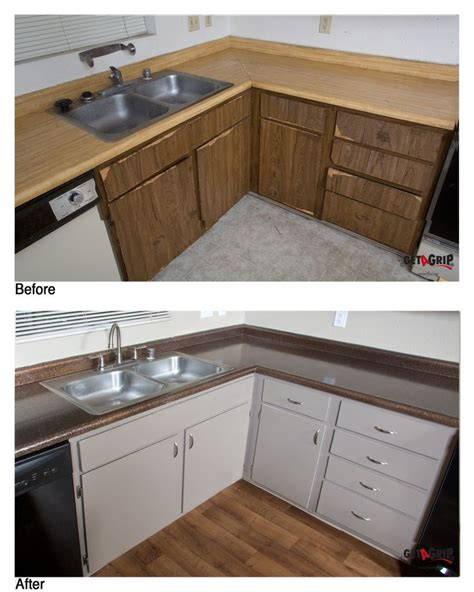 Resurface Countertops Lowes by Resurfaced Cabinets And Countertops Cabinet Resurfacing