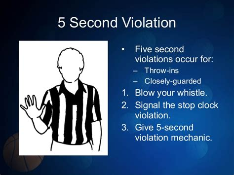 Section 8 Violations by Basketball Signals Mech 2014