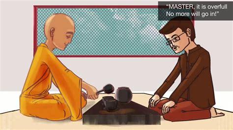 zen corner empty  cup motivational zen story