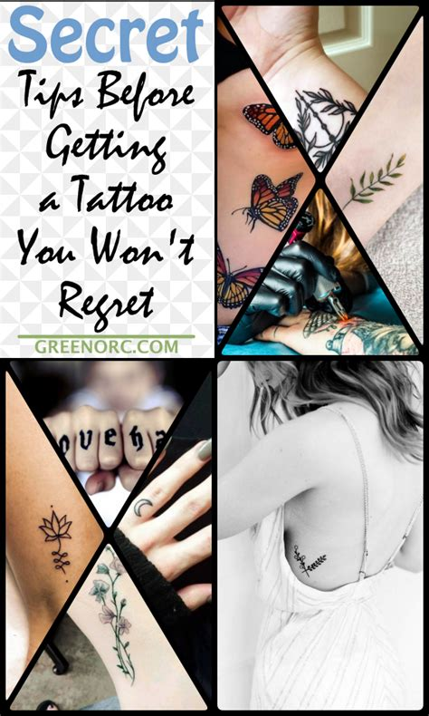 tips before getting a tattoo 10 secret tips before getting a you won t regret