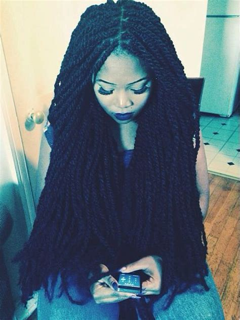 show picture long marely twist natural hair marley twists tumblr