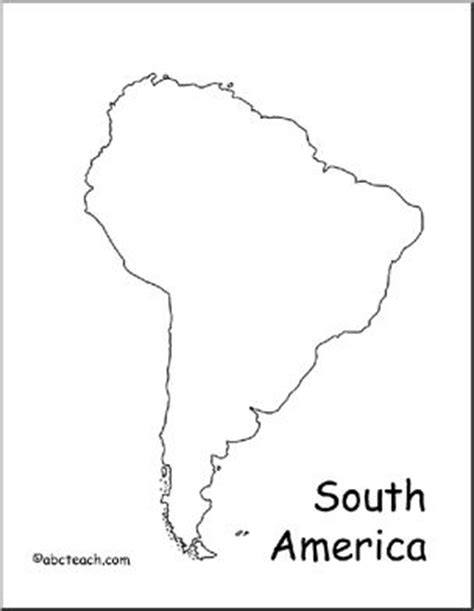 South And America Map Outline by South America Map Outline Tattoos America South America Map And South America