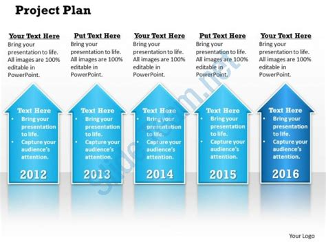 Project Plan Powerpoint Template Slide Project Plan Template Powerpoint