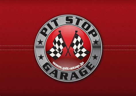 Design My Garage pit stop garage logo flyer logo design pinterest logos