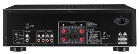 ingresso phono pioneer sx 20 k s sintolificatore stereo da 200w con