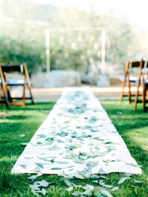 Wedding Aisle With Leaves 20 wedding aisle runners ideas will make your wedding more