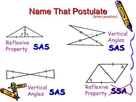 sas land proving triangles congruent sss sas asa
