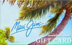 Maui Jim Gift Card - sell maui jim gift cards raise