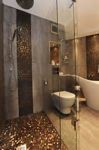 spectacular gold mosaic bathroom tiles artenzo