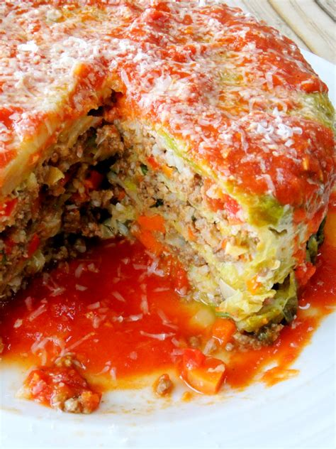 italian stuffed cabbage recipe dishmaps