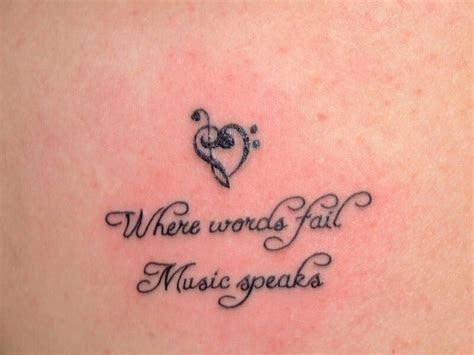 tattoo quotes music quotes about music tattoos 34 quotes